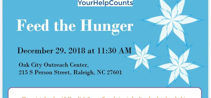 December 29th, 2018 – Food distribution event